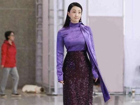陶虹身穿鱼尾裙好惊艳,年轻时有多美,段奕宏还暗恋过她!