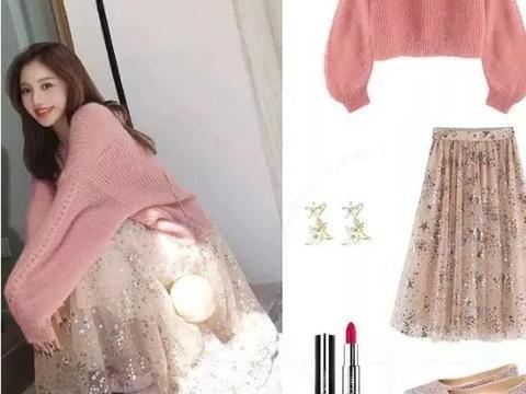 毛衣半裙的温柔和毛衣阔腿裤的帅气哪一种更适合你?