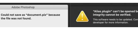 PS 和 LR 在 macOS Catalina 上出现「兼容性问题」