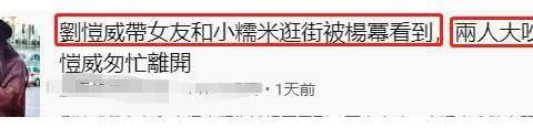 """刘恺威带新女友见女儿,杨幂恰巧撞见大发雷霆?""""新欢""""身份揭开"""
