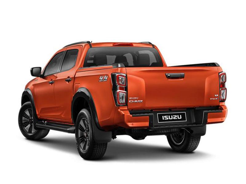 两种外观样式 全新一代五十铃D-MAX在泰国发布