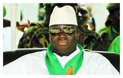 西非小国一身傲骨,前总统贾梅多次放言求战,沦为世界笑柄