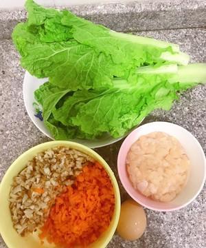 鸡肉蔬菜包,绝对的减脂利器,做法很简单,热量超低