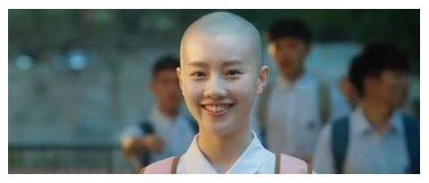 揭秘为了拍戏剃光头的女星,她是真的剃光了头发,依然挡不住美丽