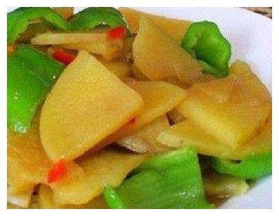 """炒土豆时配点""""此"""",美味可口,清除肠胃垃圾,瘦回小蛮腰"""