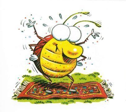 亲子英语绘本导读24:Bug on a Rug 在地毯上玩耍的小虫子