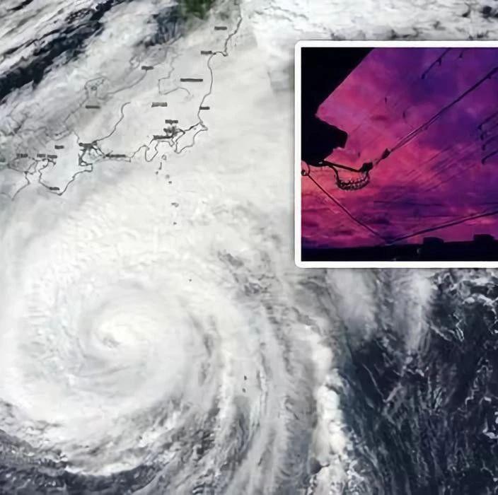 """60年最强台风肆虐日本,新干线""""泡澡"""",核辐射垃圾冲入河中,死亡人数升至33人"""