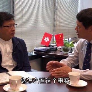 香港局势怎么走?胡锡进采访香港立法会议员何君尧
