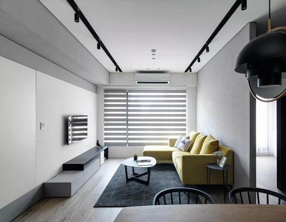 成都简约风120平装修极简案例 让空间氛围拥有无限的可能