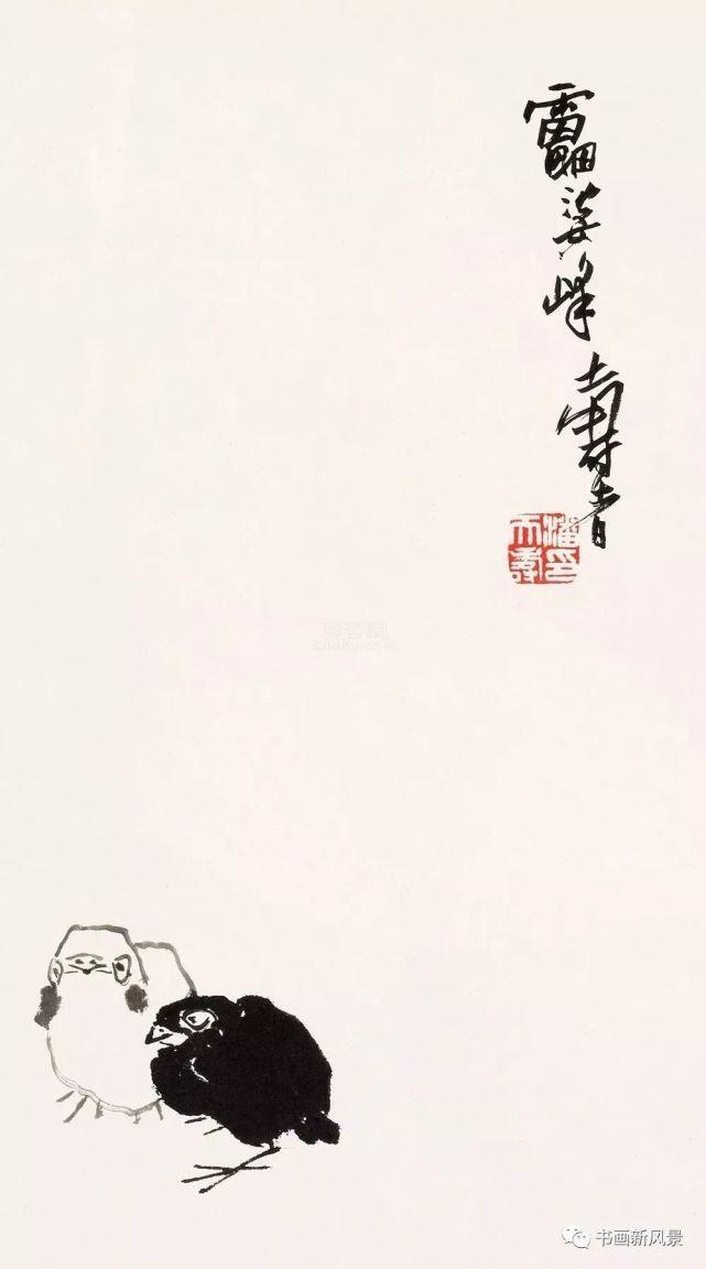 潘天寿:这样画画,活矣!