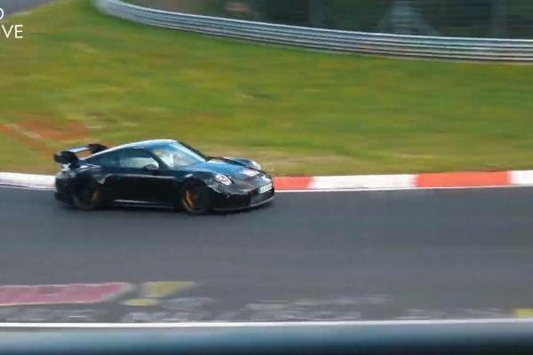 视频:保时捷 911 GT3 992 现身纽博格林测试