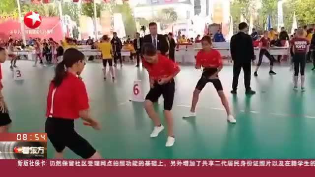 2019年中国国际跳绳公开赛举行:11金7银2铜  勒流跳绳队再次征服国际赛场