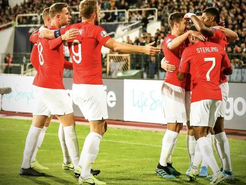 凯恩3传1射拉什福德世界波 英格兰6-0狂胜