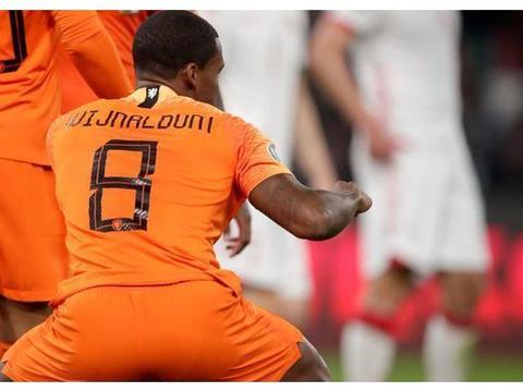 荷兰险胜白俄罗斯继续领跑欧预赛!下场只要战胜北爱尔兰就晋级!