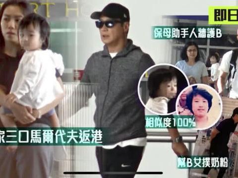 黎明一家人现身机场,一岁半女儿正面照曝光,软萌可爱颇像爸爸