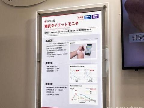 京瓷推出全球首款基于陀螺仪的便携式碳水化合物监测仪