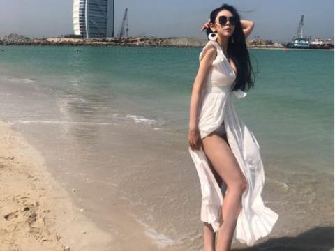 前斗鱼一姐张琪格,网传被迪拜土豪租了1个月,事实不是这样的
