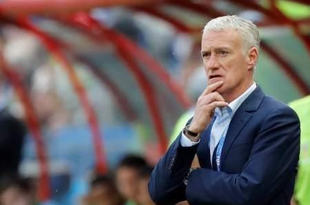 德尚:让西索科踢右路,因为他此前欧洲杯踢过这个位置