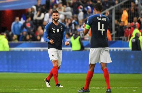 格里兹曼助攻吉鲁头槌!法国1-1土耳其