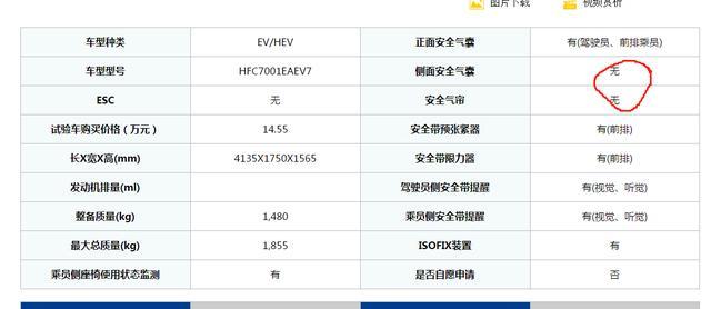 """主动安全得0分,江淮iEV7S得两星""""实至名归"""""""