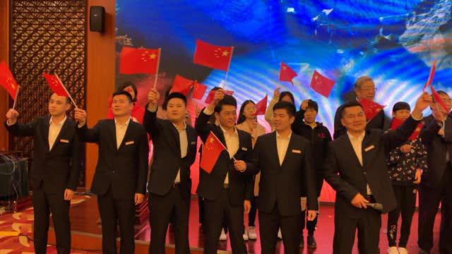 在中信置业杯中国女子围甲联赛中信·井冈山站的开幕式上