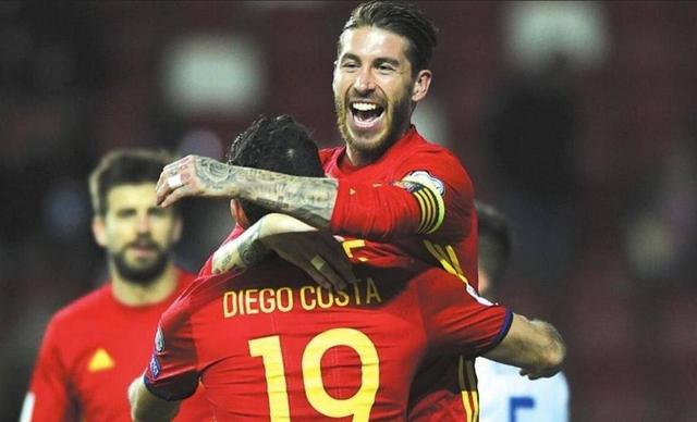 西班牙出征瑞典,出线形势明朗,水爷停赛后防压力大