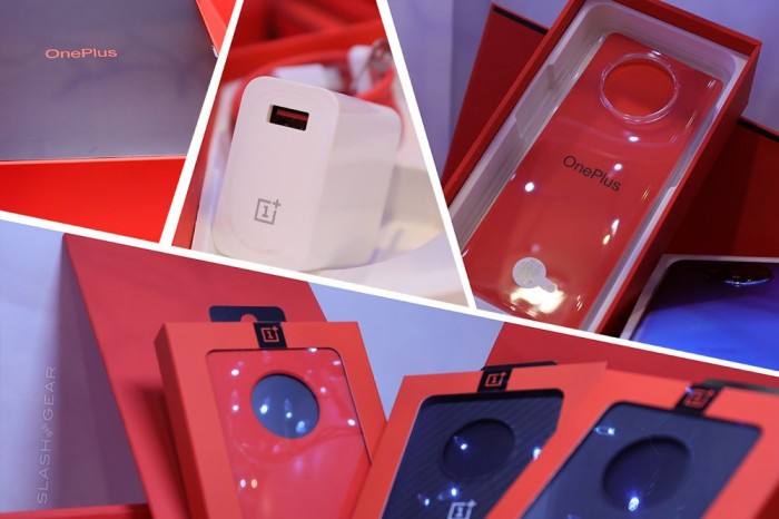 一加7T礼盒装曝光:大红色调 内含丰富配件