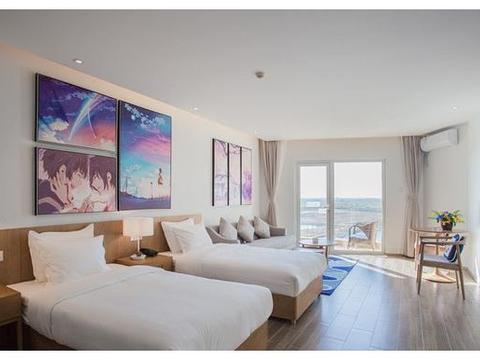 《南戴河汐溪亲子酒店》,畅玩度假村,推窗看海邂逅美景