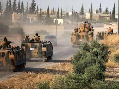 库尔德人夜袭土耳其联军,几波猛烈冲锋打垮对手,夺回边境重镇