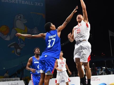 沙滩篮球|世界沙滩运动会:中国男队胜多米尼加男队