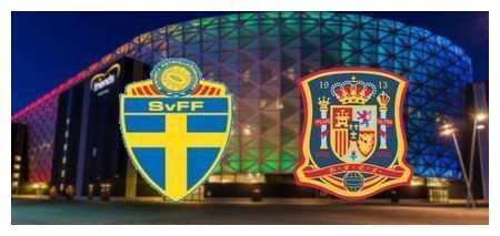 西班牙vs瑞典首发:福斯贝里对阵塞瓦略斯