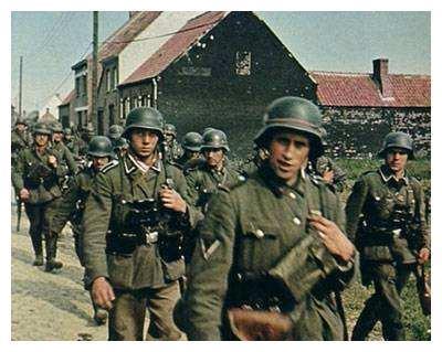二战中德军战斗力到底怎么样?历史老照片,真实还原!