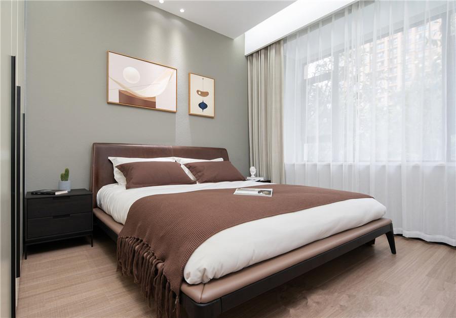 123平米三居室装修案例 现代11万!-幸福湾装修