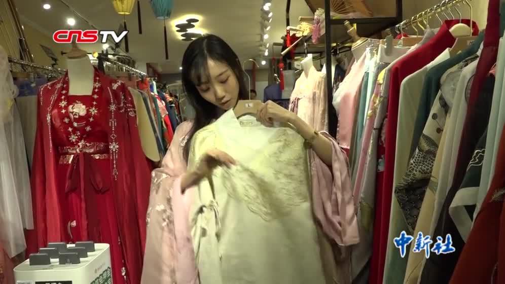 汉服造型师韩爽:汉服兴起不是一时热度 想把中国传统美带给更多人