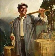 献礼新中国成立70周年丨课文里的红色篇章之《朱德的扁担》