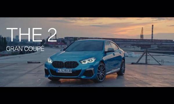 视频:全新宝马2系Gran Coupe 官方宣传片
