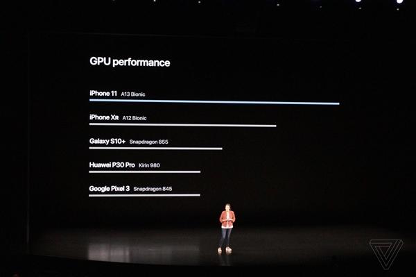 苹果发布A13仿生芯片:对比华为P30 Pro引热议
