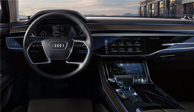 """什么才是豪华D级车的""""未来感""""?且看奥迪A8L!"""
