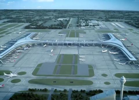 金螳螂助力上海浦东机场全球最大卫星厅  总建筑面积62.2万平方米