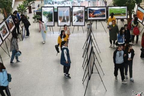《瞰河北》航拍摄影展走进河北经贸大学