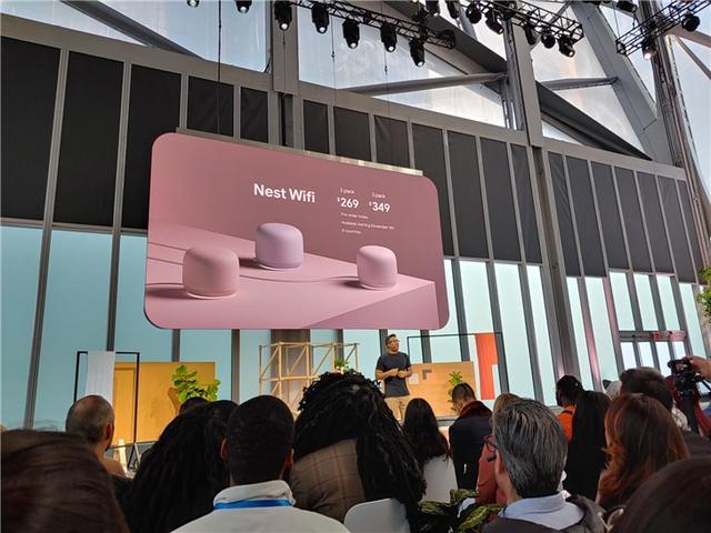 谷歌发布Nest Wifi路由器:速度更快,覆盖面更广