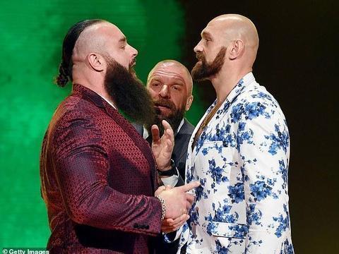 """这么下血本吗?知情人透露""""白泰森""""WWE首秀酬劳过亿元"""