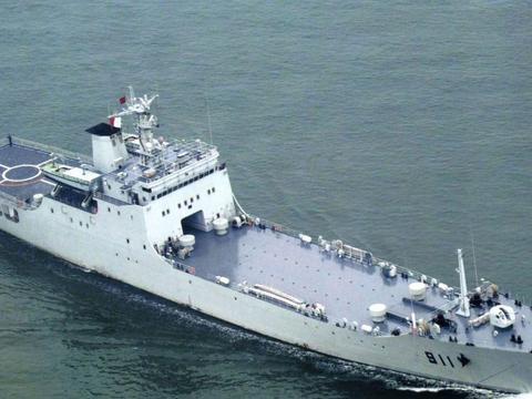 中国海军现役15艘072A型大型登陆舰