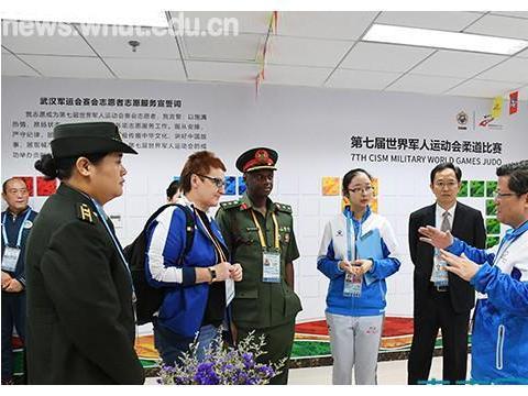 国际军体官方代表到武汉理工大学检查军运会柔道项目筹备工作