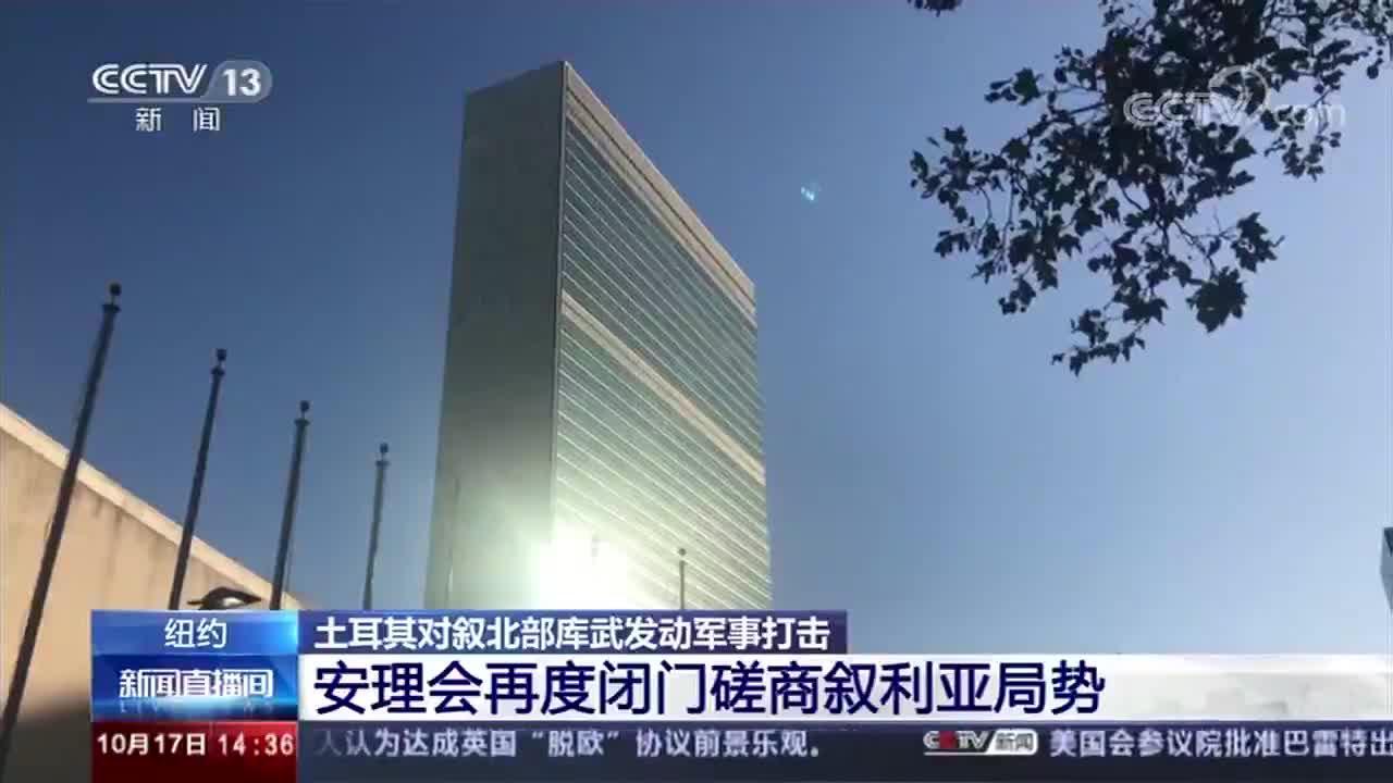 联合国安理会再度闭门磋商叙利亚局势