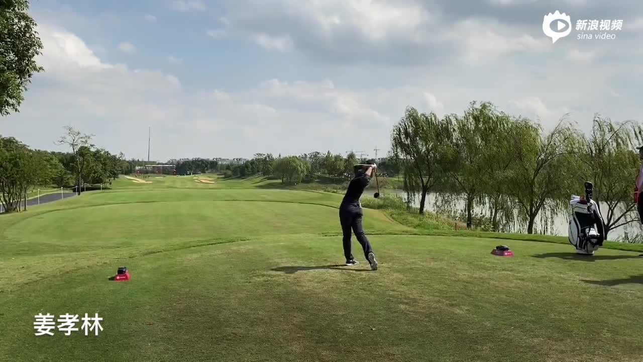 视频-别克LPGA赛球星挥杆合辑 冯珊珊高真荣PK