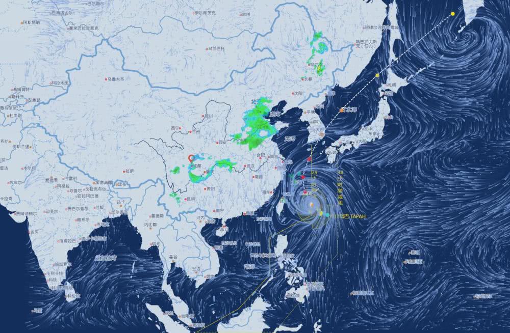 浙江北部有大暴雨!17号台风即将进入东海,22日或第1次登陆