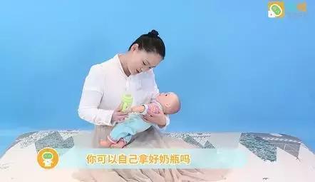 亲子早教:超简单2分钟游戏,培养6-7月宝宝自理能力
