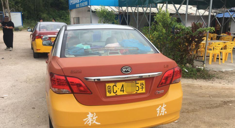 驾校教练带4学员赶考科目三,上珠海大桥连撞3车!