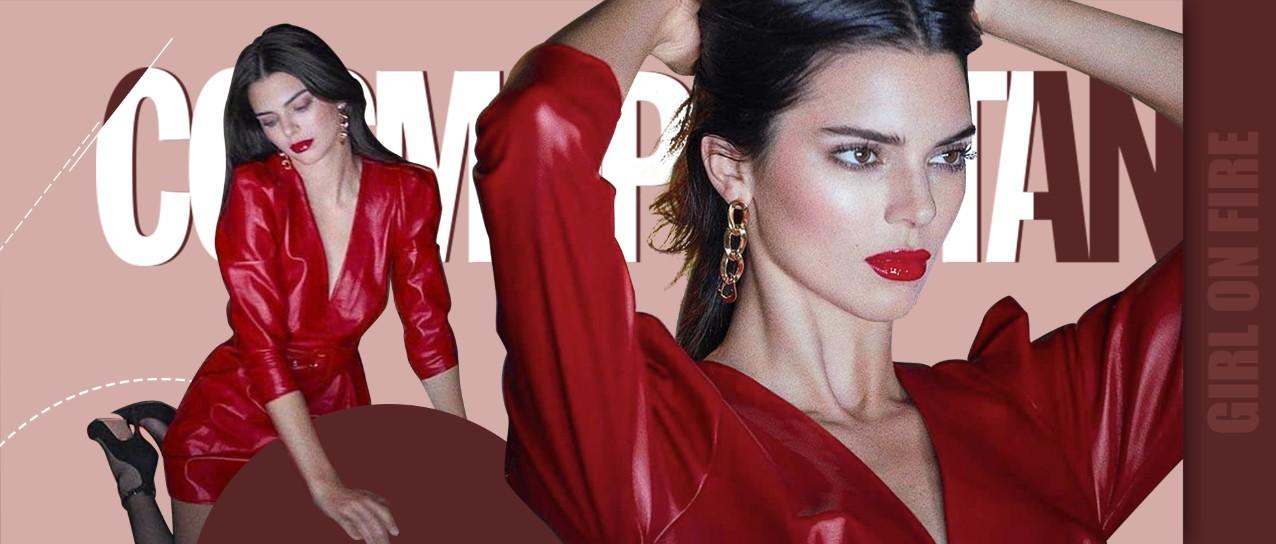 """有一种颜色拥有""""贵族血"""",Kendall一穿我彻底扛不住"""
